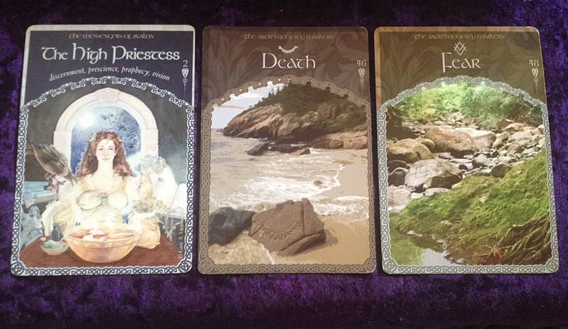 8-9-15 Wisdom Of Avalon cards