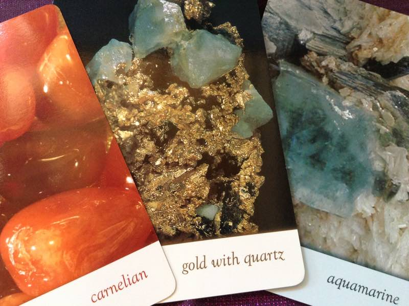 9-13-15 cards from Crystal Oracle deck