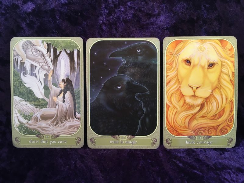 10-11-15 Messager Oracle cards