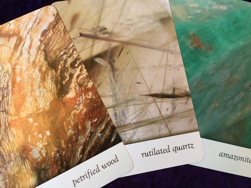 10-5-15 cards Crystal Oracle deck