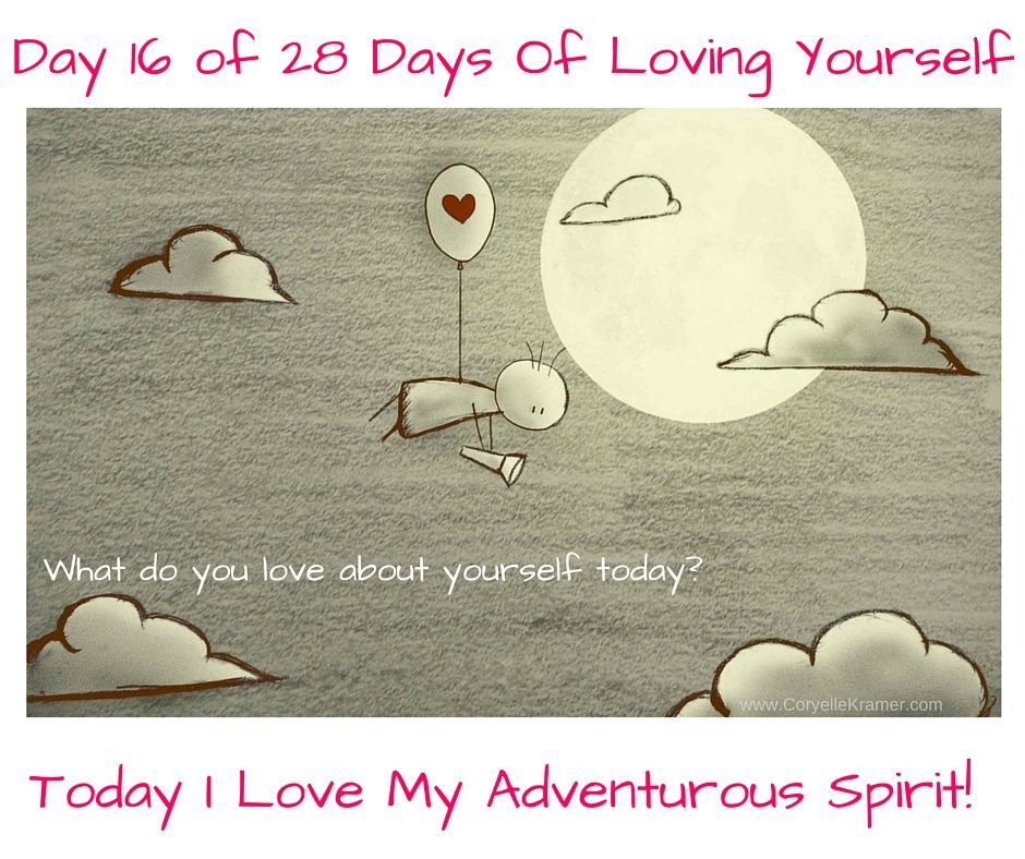 Day 16 of 28 Days Of Loving Yourself