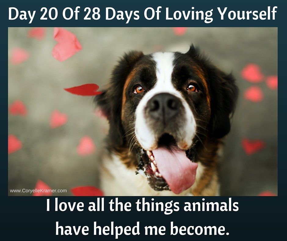 Day 20 love all things animals helped me become #empowerment #love