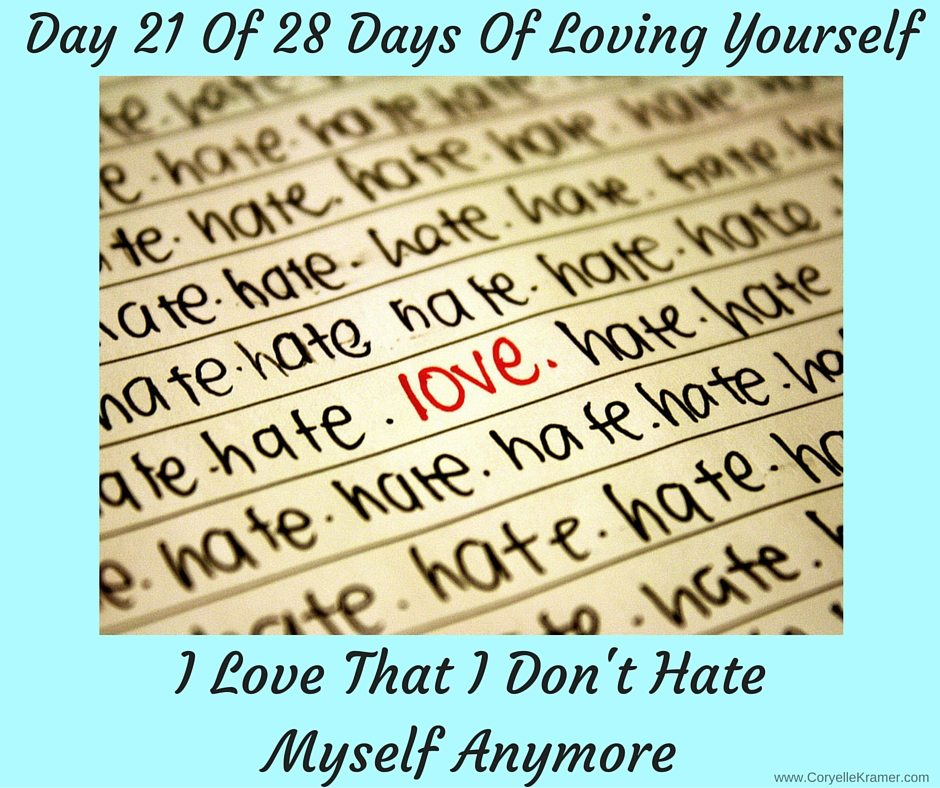 Day 21 Of 28 Days Of Loving Yourself