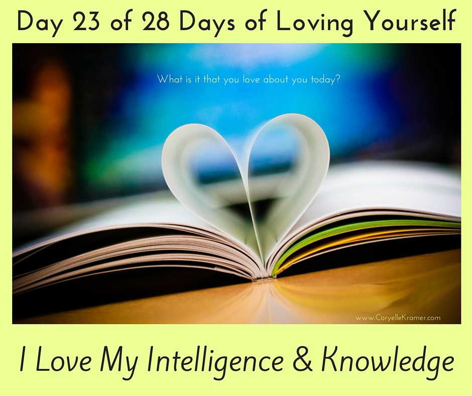 Day 23 of 28 Days of Loving Yourself