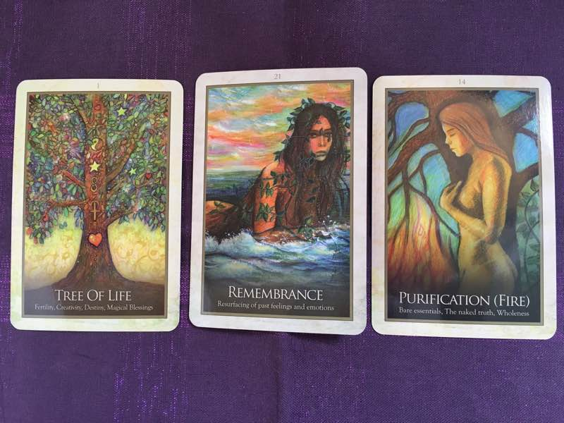 3-21-16 Gaia Oracle cards