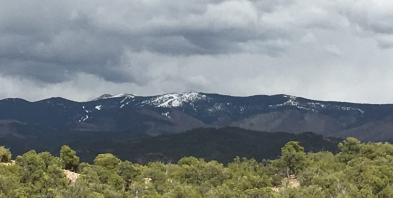 mountains in NM