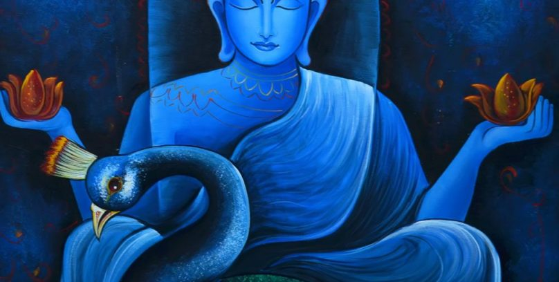 Buddha & Peacock story