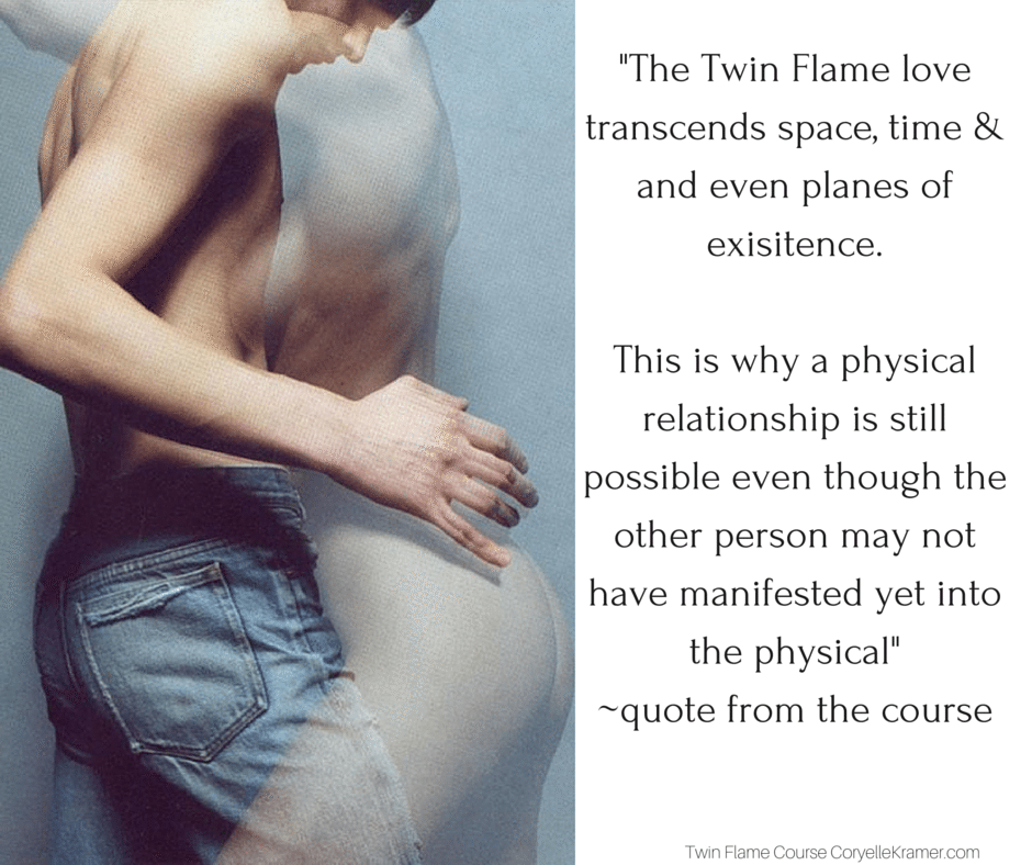 The Twin Flame Love transcends space and time