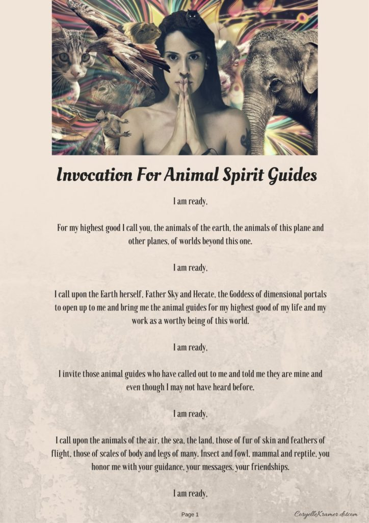 Animal Spirit Guide Invocation p2