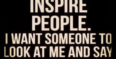 i-want-to-inspire-people #coryellekramer #quotes