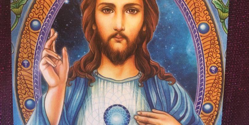 Ascended Master Card: Jesus