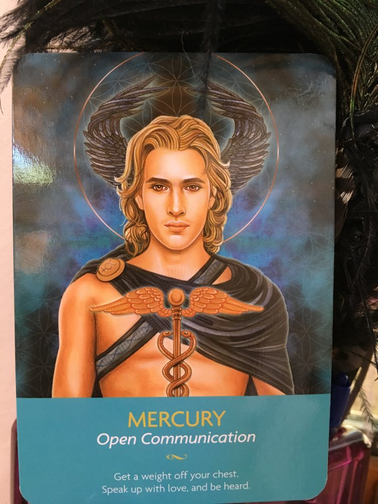 Mercury card