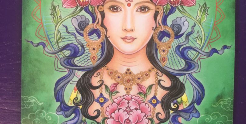 Goddess of Protection Green Tara